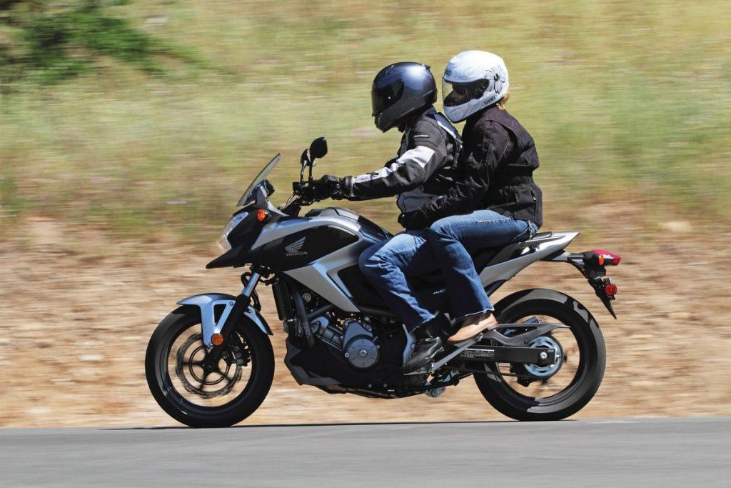 2012 Honda NC700X - 2up riding