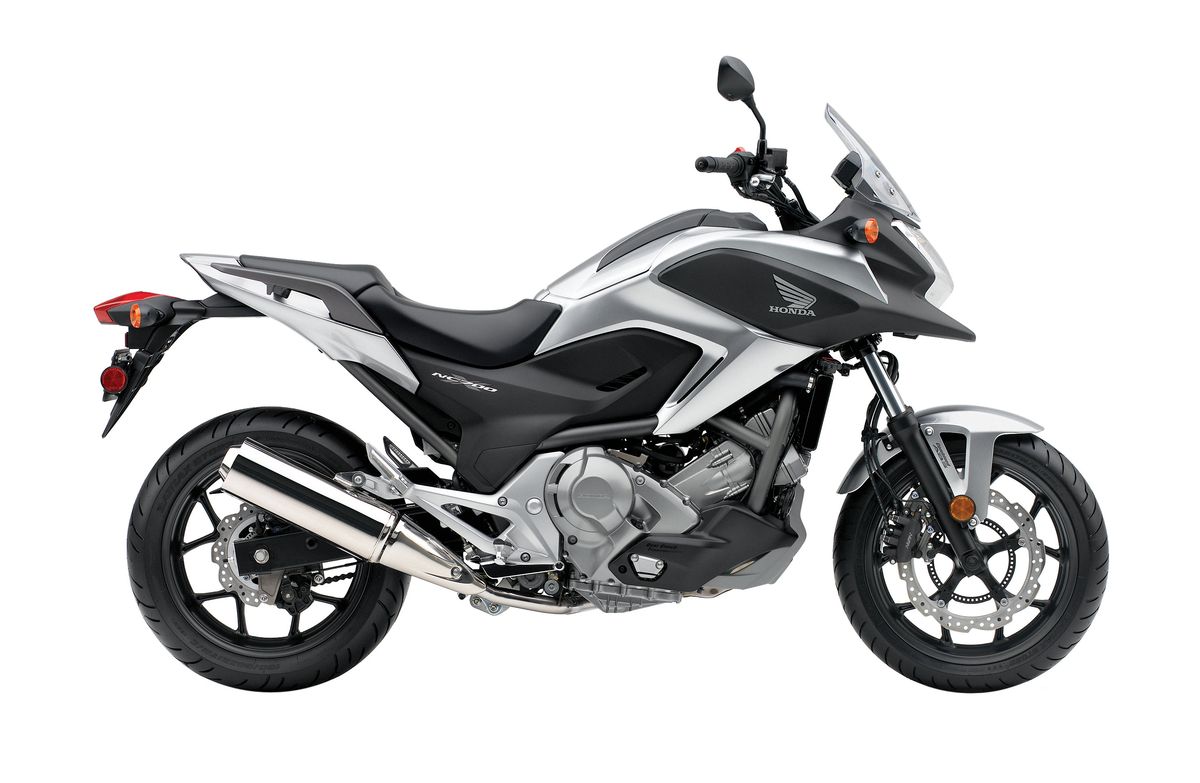 2012 Honda NC700X -Side Profile