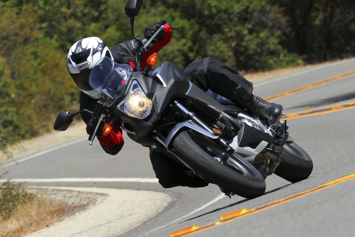 2012 Honda NC700X - Cornering