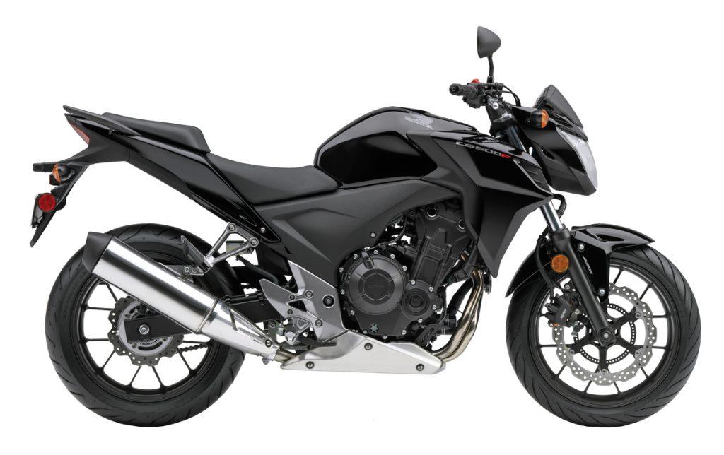 2013 Honda CB500F - Black - Side profile