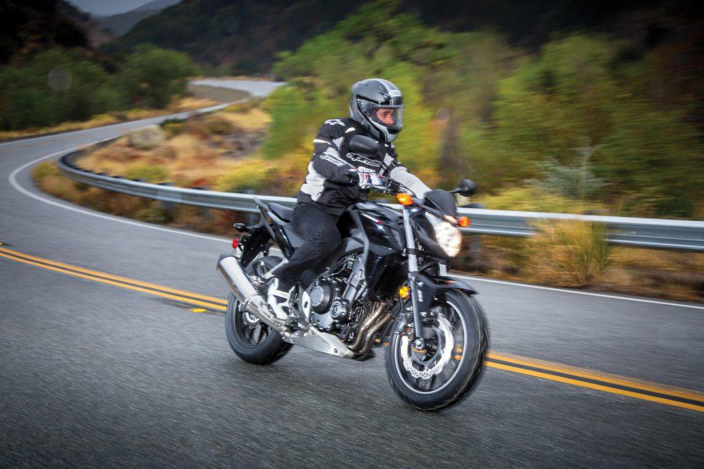 2013 Honda CB500F - Mountain cornering