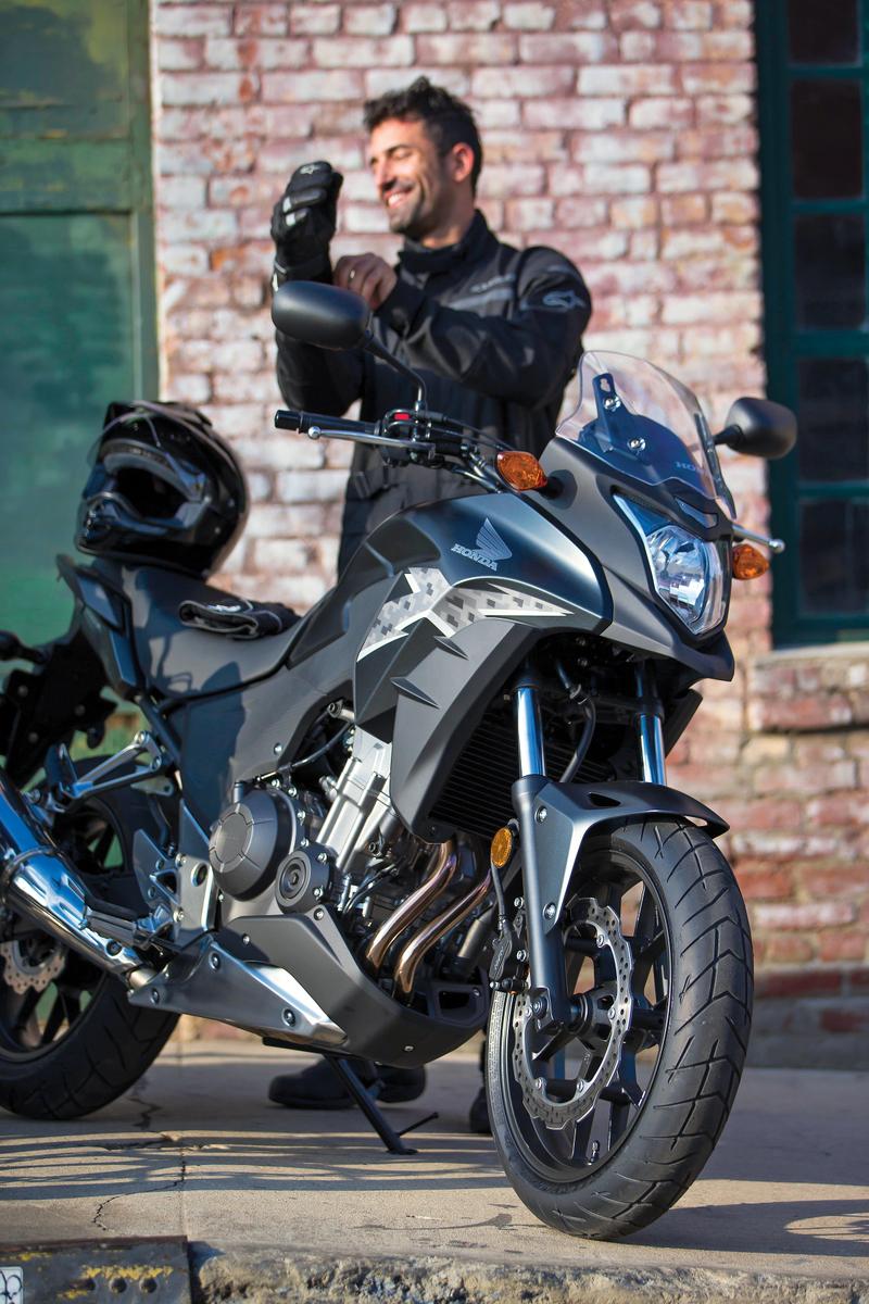 2013 Honda CB500X - Glamour Shot