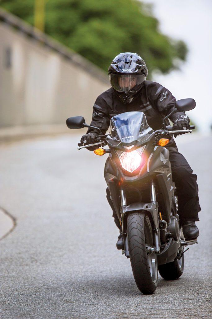 2013 Honda CB500X - Front Riding