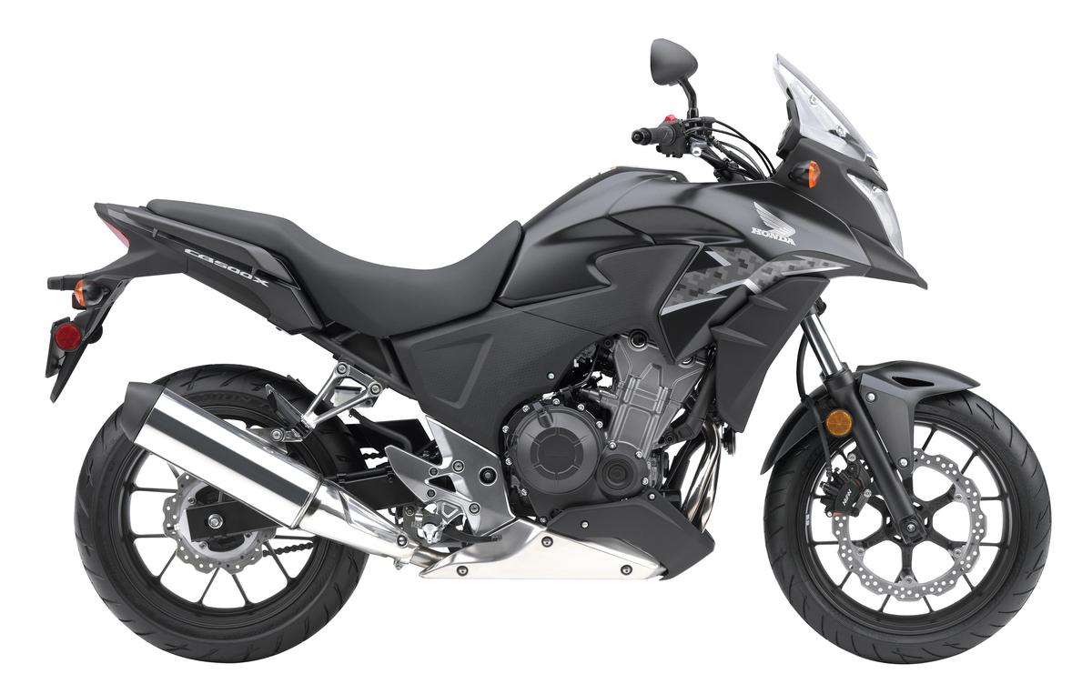 2013 Honda CB500X - Side
