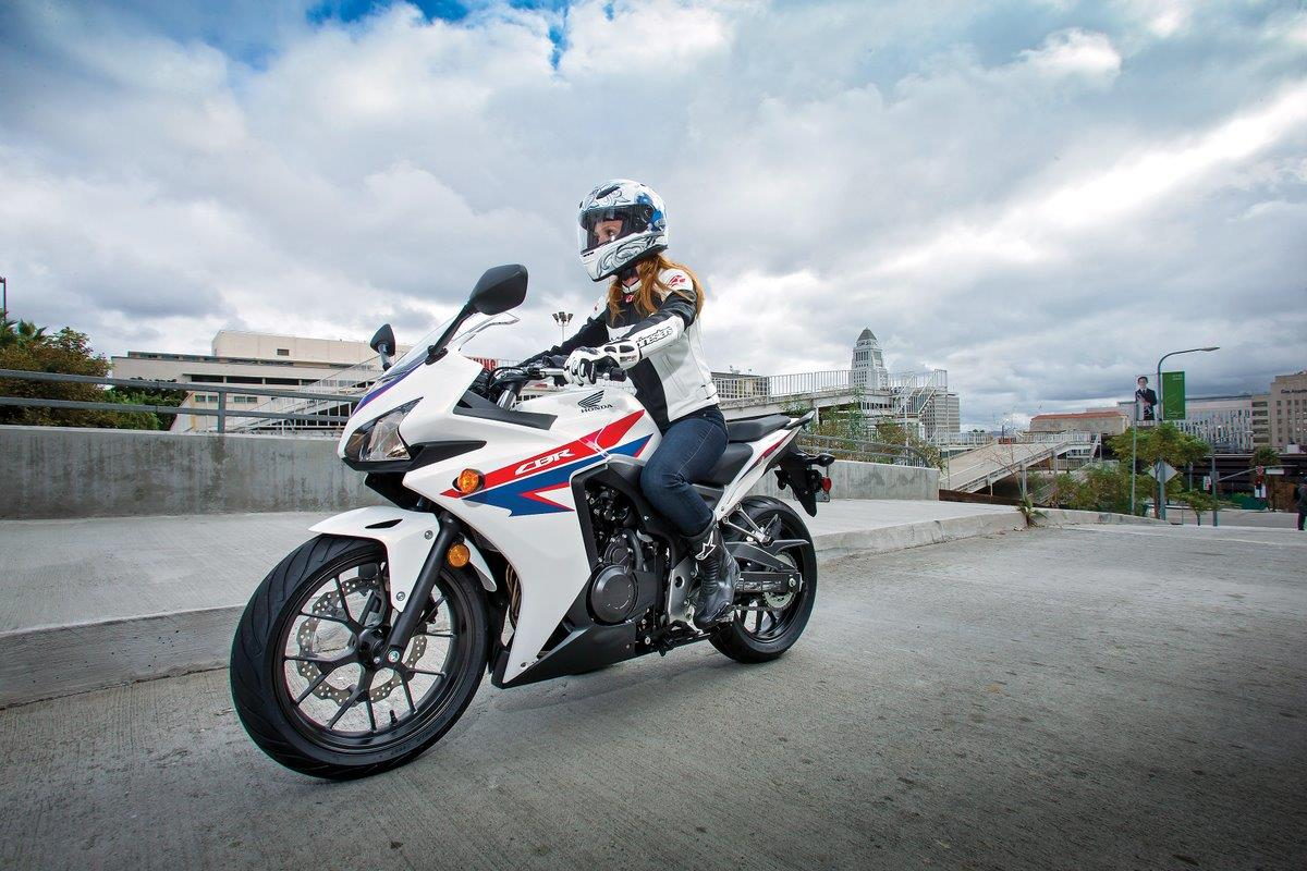 2013 Honda CBR500R - White - Hero