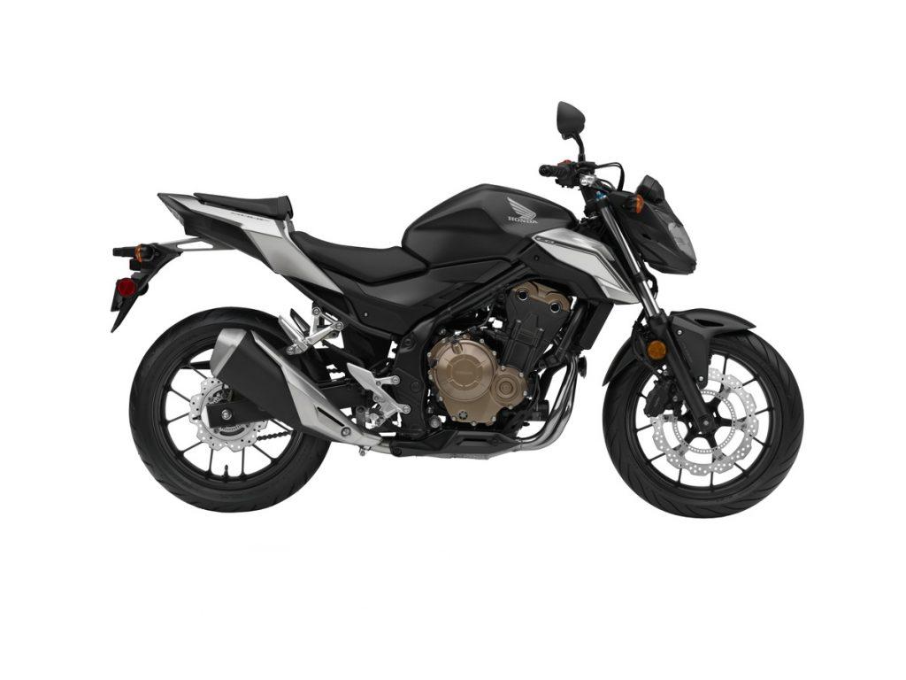 2016 Honda CB500F - Black - Side Profile