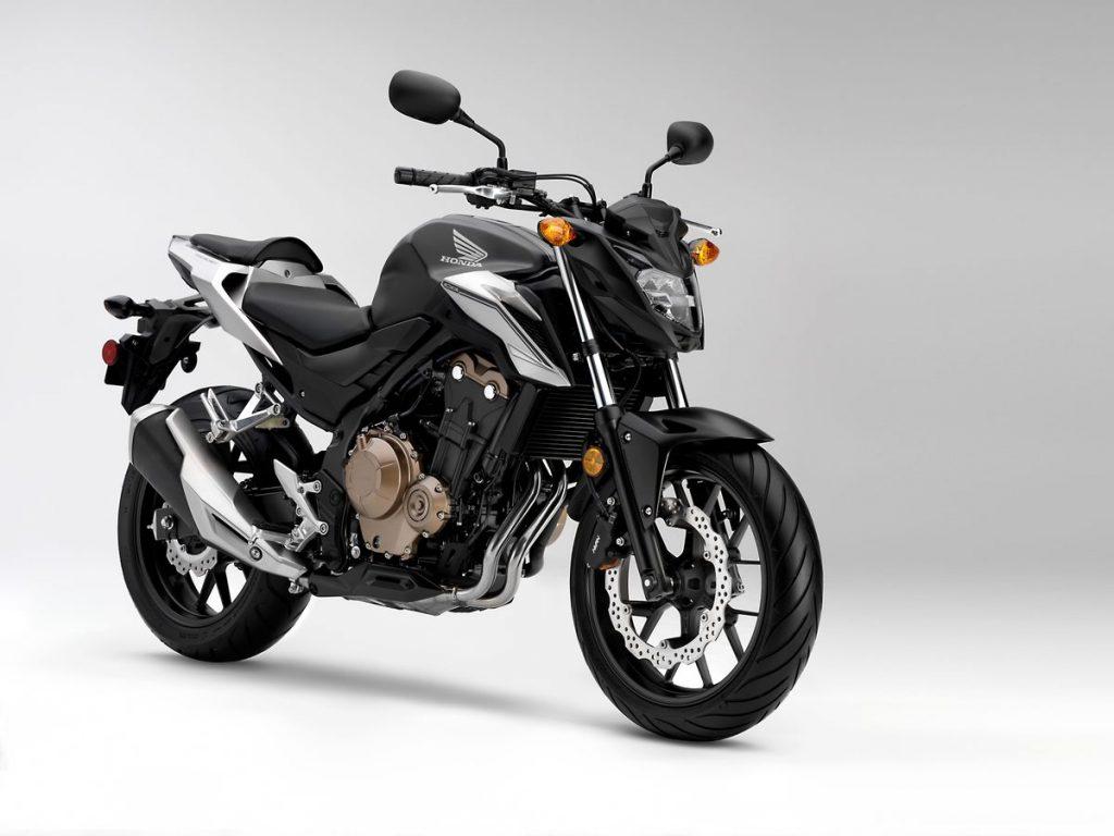 2016 Honda CB500F - Black - 3/4 front angle
