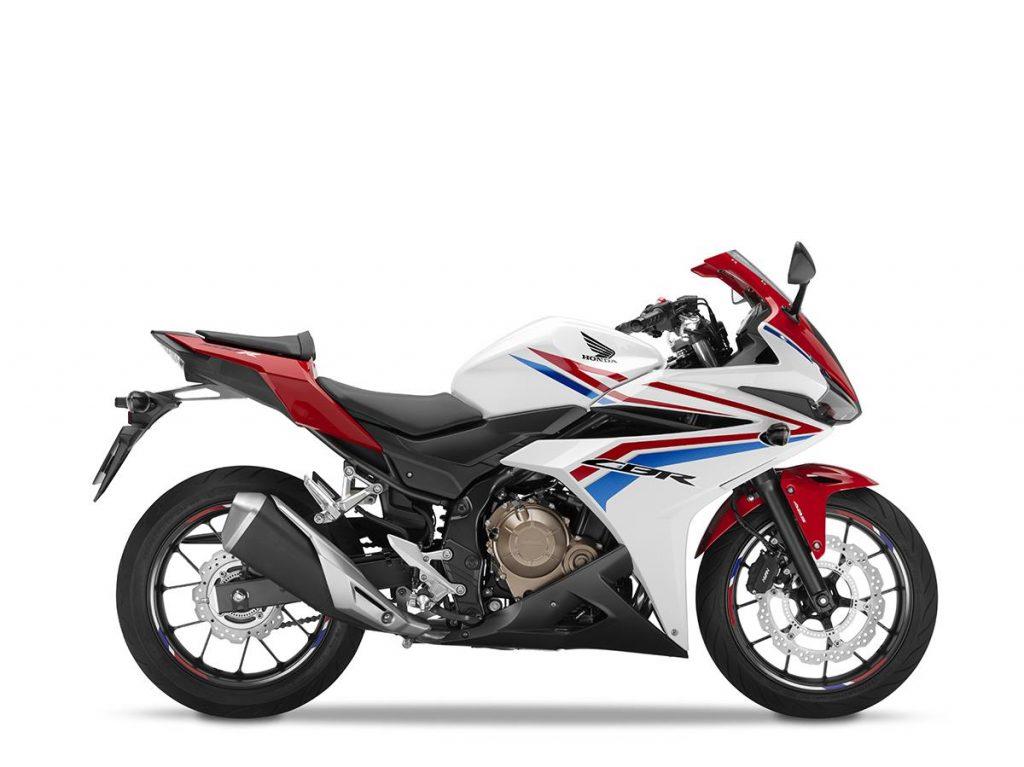 2016 Honda CBR500R - White - Right Side