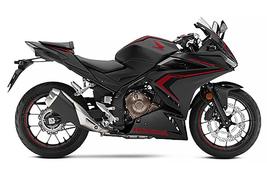 2021 Honda CBR500R - Black - Right Side