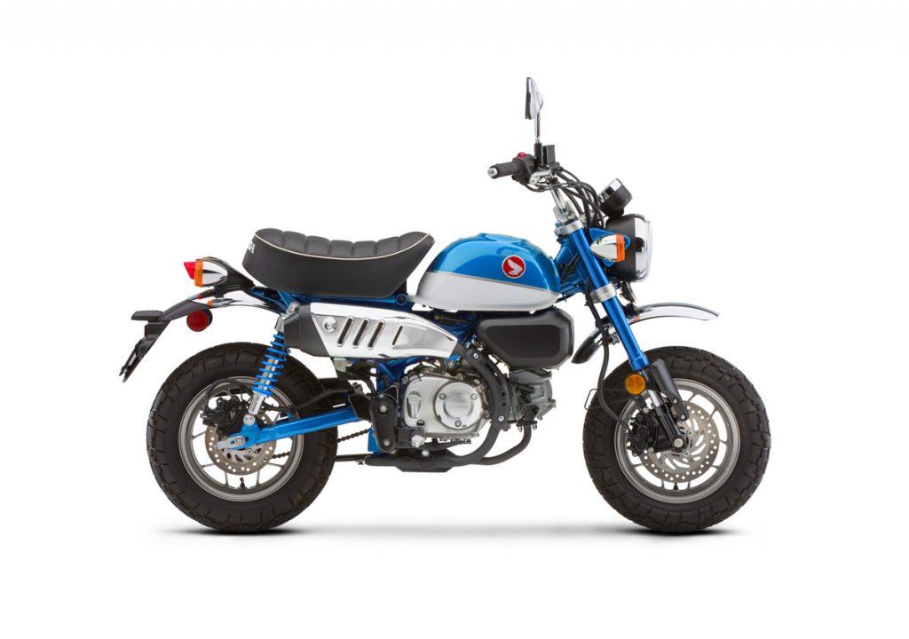 2021 Honda Monkey - Pearl Glittering Blue - Side Profile