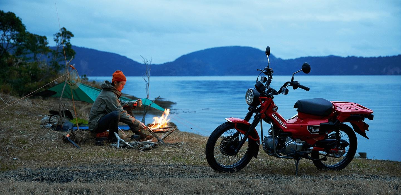 2021 Honda Trail 125 - Camping Lakeside