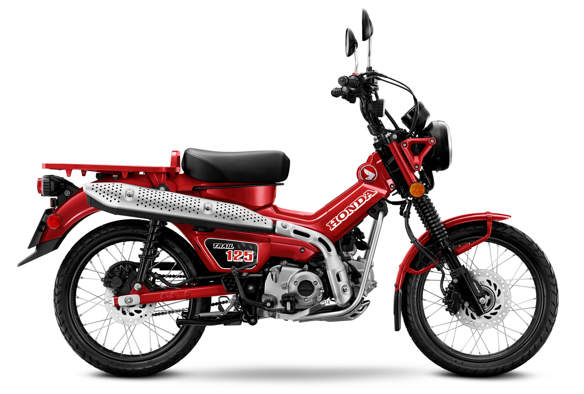 2021 Honda Trail 125 - profile right