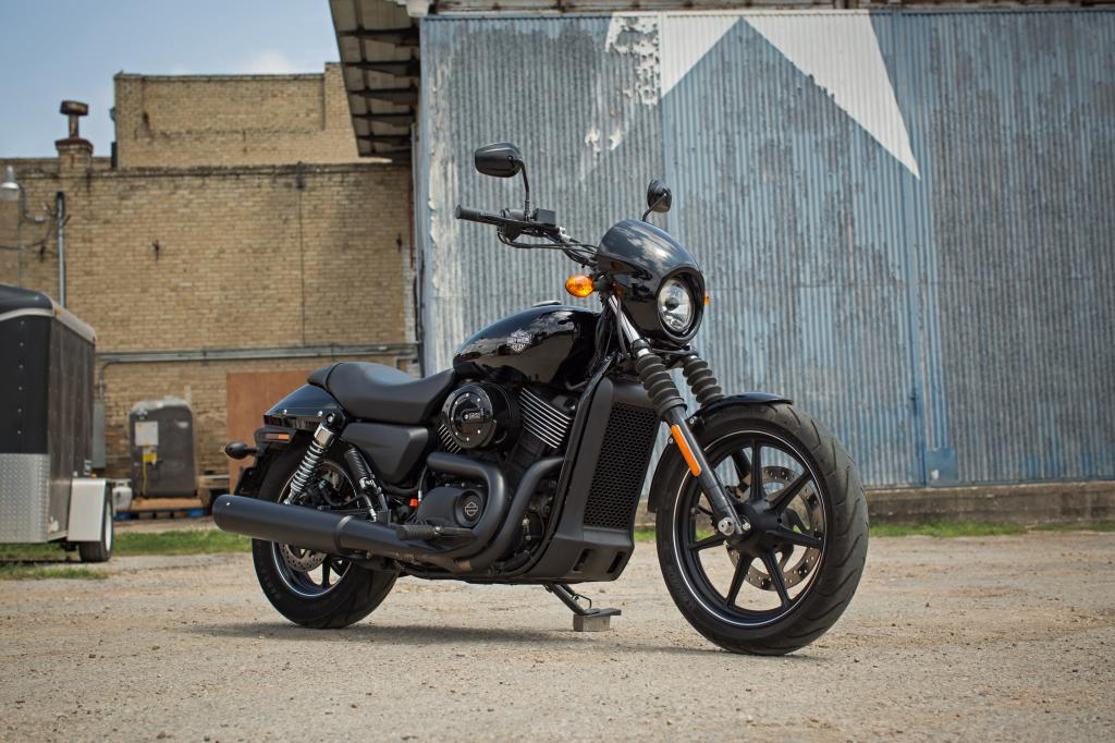 Harley Davidson Street 750 - Front Angle