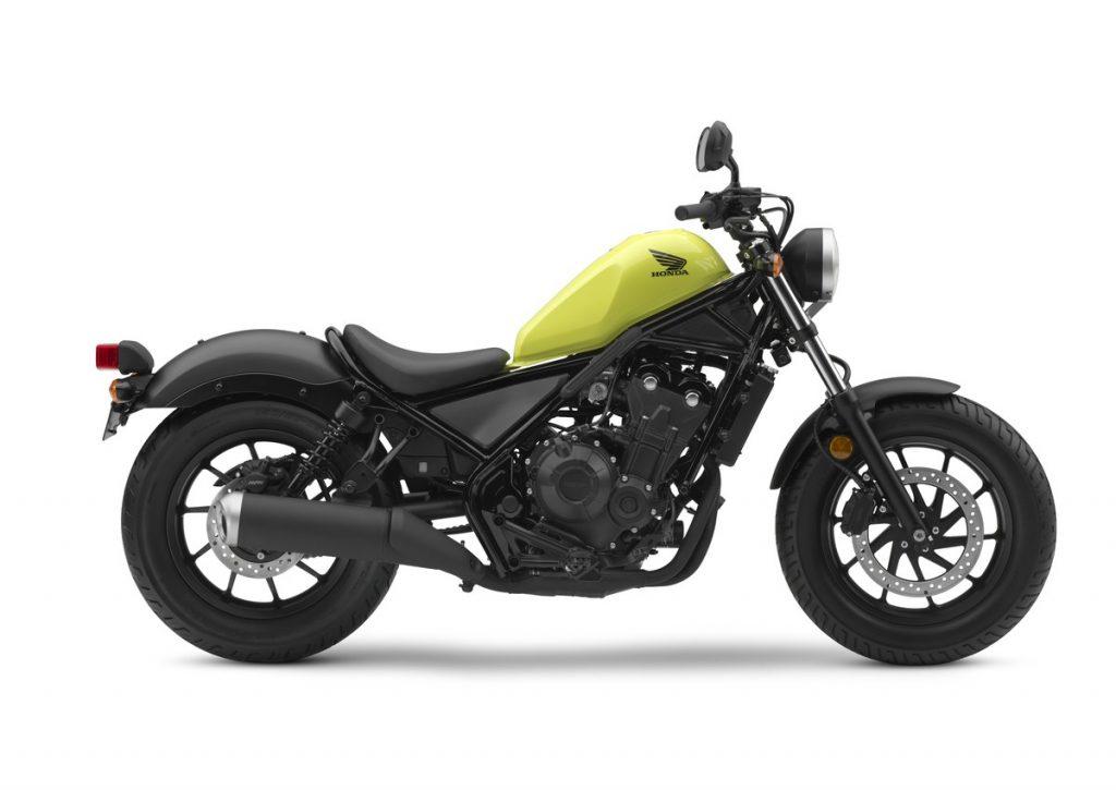 2017 Honda Rebel -Yellow