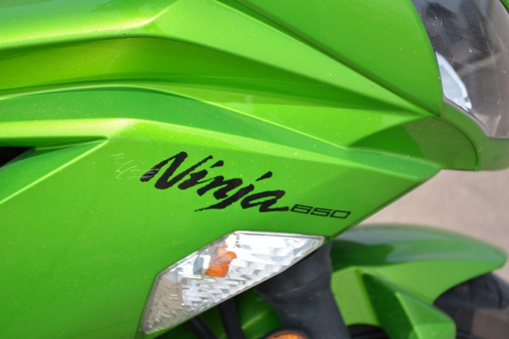 2012 Kawasaki ER-6F Ninja 650 Logo - with scratch