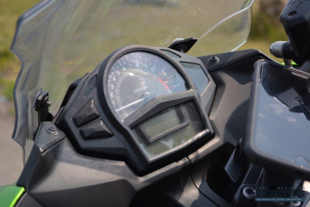 2012 Kawasaki ER-6F Ninja 650 Instrumentation