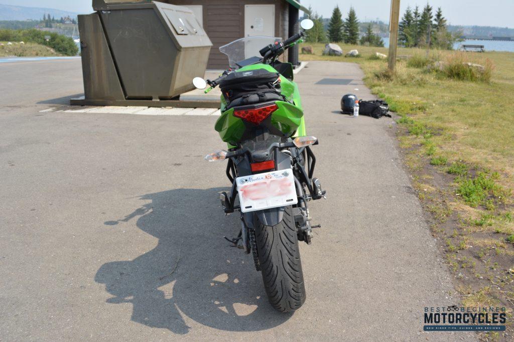 2012 Kawasaki Ninja 650 Rear View