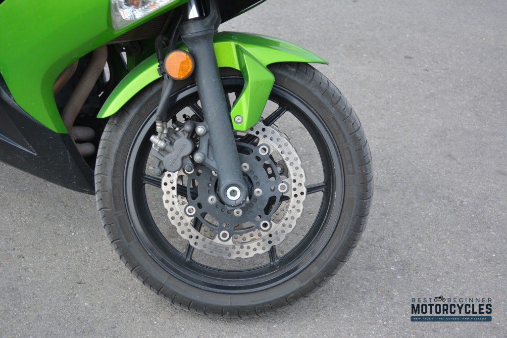 2012 Kawasaki Ninja 650 Front Wheel